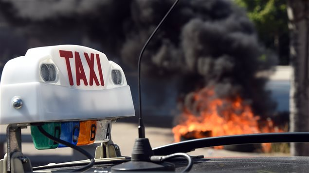 uber taxi guerre